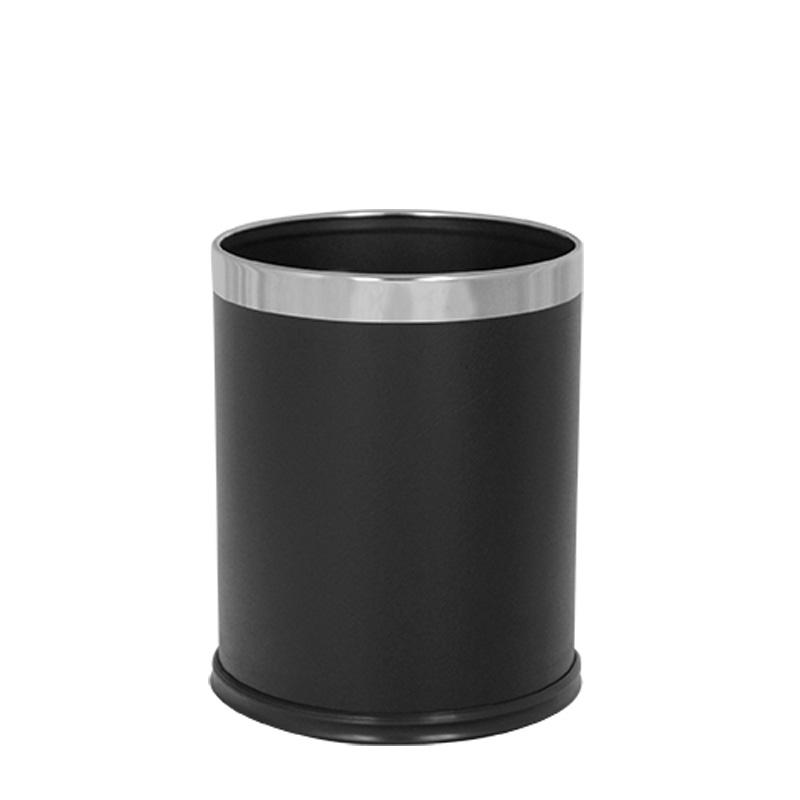 Abfallbehälter 10L aus pulverbeschichtetem Stahl