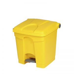 Treteimer 30 Liter gelb