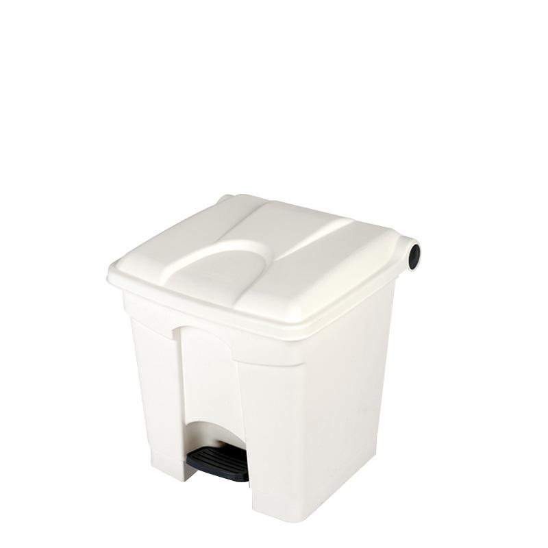 Treteimer 30 Liter weiß