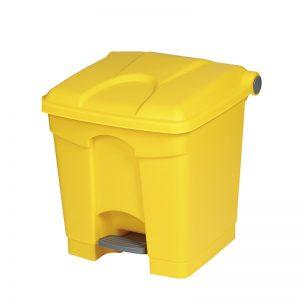Treteimer 45 Liter gelb